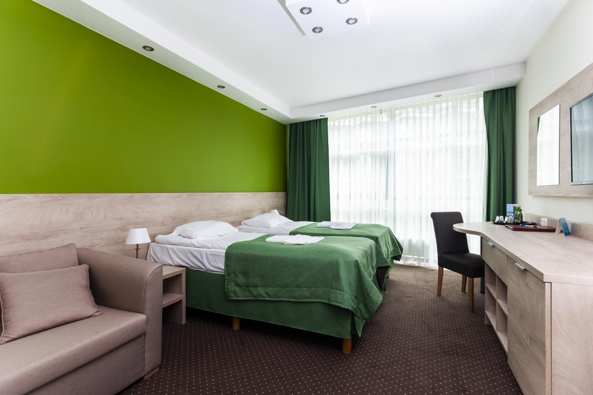 Pokoje komfort +