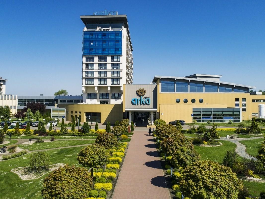 Arka Mega Hotel I Spa W Kołobrzeg