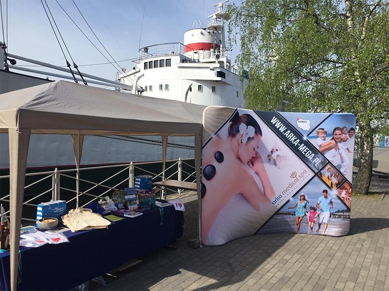 Promowanie Arki w Kaliningradzie